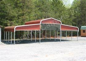 Regular Roof Style Horse Barn with Vertical Gables