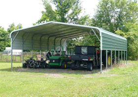 Regular Style Carport with One Panel Per Side